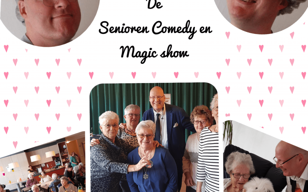 De Senioren Comedy en Magicshow